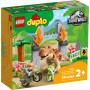 LEGO 10939 T. rex en Triceratops dinosaurus ontsnapping